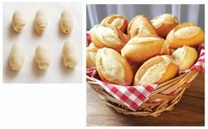 Mini Pão Francês Massagelada